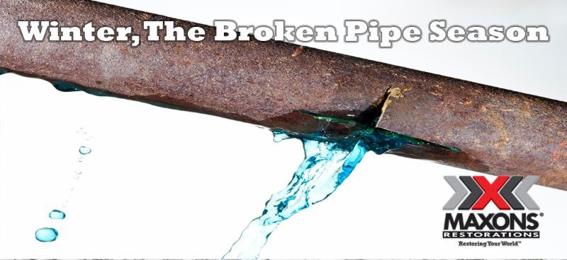 Broken pipe season example visual